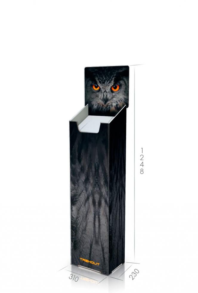 pr sentoir journaux plv dispolay de sol journaux display journaux plv colonne pr sentation. Black Bedroom Furniture Sets. Home Design Ideas